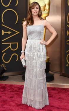 Jennifer Garner by Oscar de la Renta