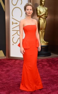 Jennifer Lawrence by Dior Couture