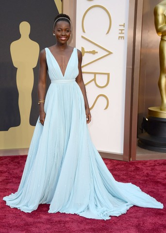 Lupita Nyongo by Prada Custom Made