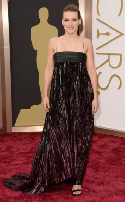 Veerle Baetens. Si bien tiene una hermosa figura, la elección de este vestido no fue muy sentadora.