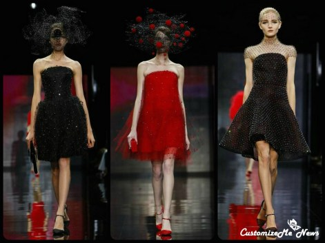 Paris Fashion Week – Armani Haute Couture fall winter 2014-15 collection
