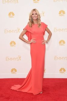 Emmy Awards - Heidi Klum by Zac Posen