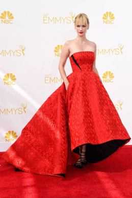 Emmy Awards - January Jones by Prabal Gurung