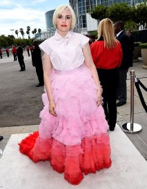 Emmy Awards - Lena Dunham by Giambattista Valli