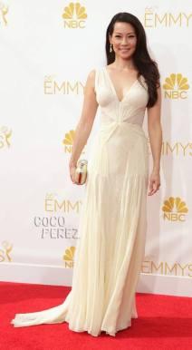 Emmy Awards - Lucy Liu by Zac Posen