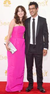 Emmy Awards - Zoey Deschanel by Oscar de la Renta