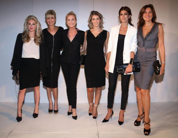 DLBA - Fashion Celebrities - Esmeralda Mitre, Karina Rabolini, Graciela Zito, Julieta Spina, Juliana Awada y Andrea Frigerio