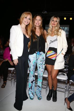 DLBA - Fashion Celebrities - Graciela Alfano, Analia Franchin y Candelaria Tinelli.